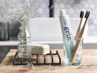 Grin - Charcoal-Infused Bamboo Toothbrush (Soft)