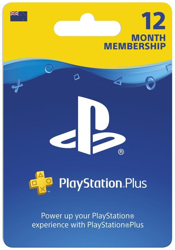 PlayStation Plus 12 Month Membership (Digital Code) for PS4