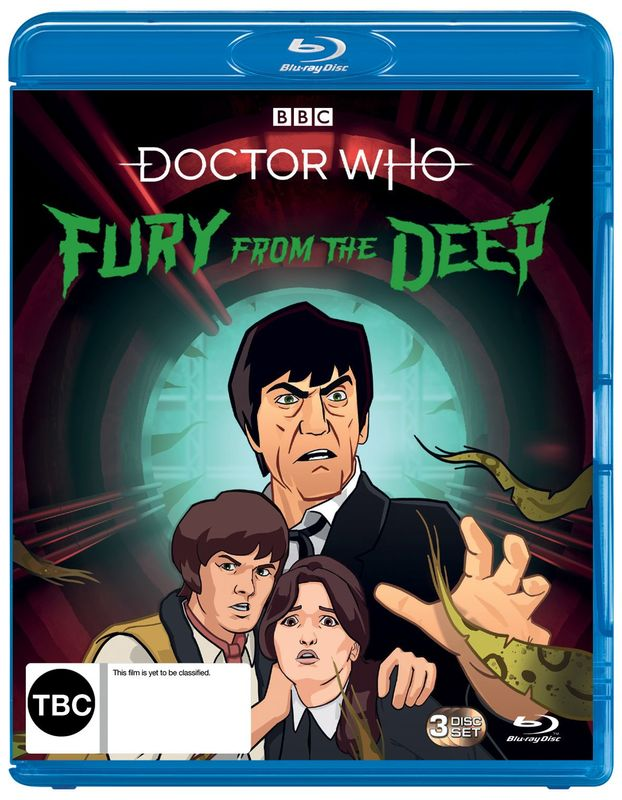 Doctor Who (1967): Fury From The Deep on Blu-ray