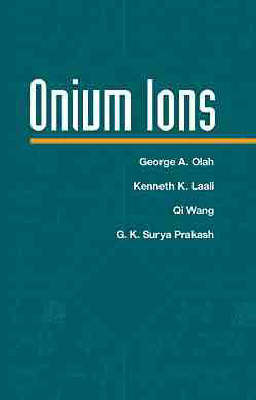Onium Ions by George A Olah image
