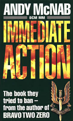 Immediate Action by Andy McNab image