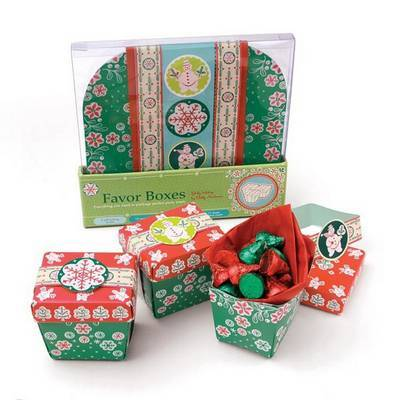 Jolly Holiday Favor Boxes: Everything You Need to Package Perfect Party Treats by Betty Anderson image