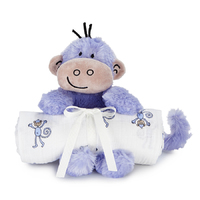 Aden + Anais Swaddle + Cuddly Companion (Monkey)