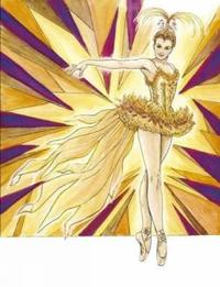 Ballet Costumes Coloring Book by Brenda Sneathen Mattox image