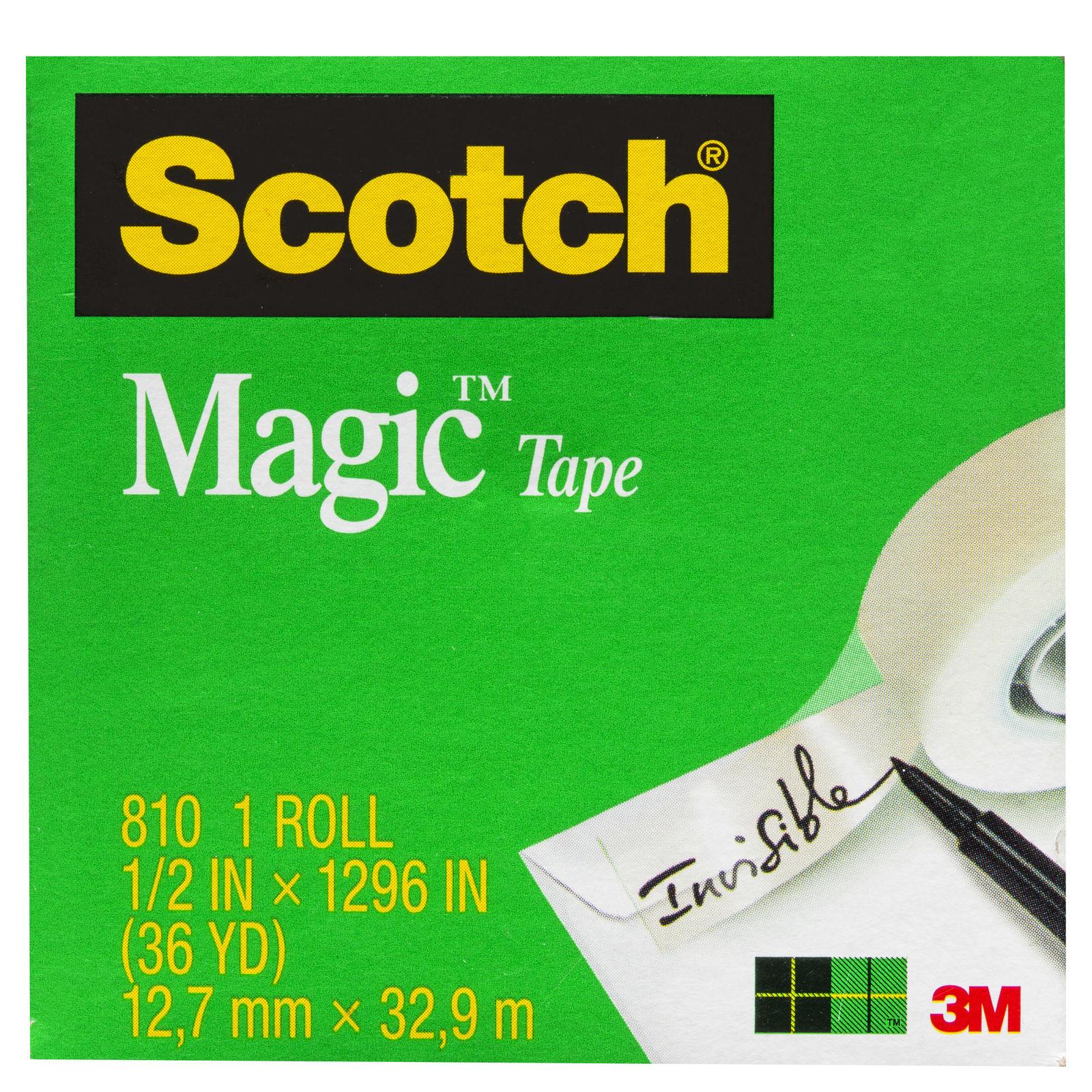 Scotch Magic Tape (12.7mm x 33m) image