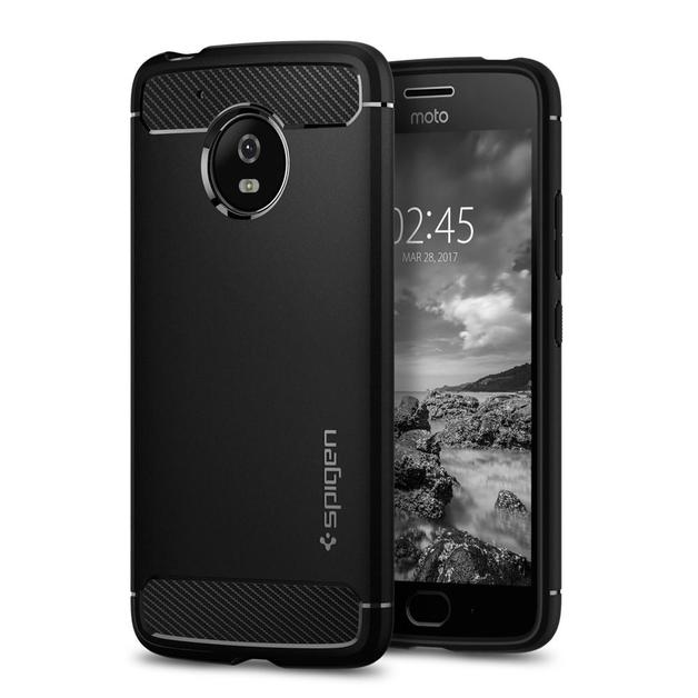 Spigen: Motorola Moto G5 - Rugged Armour Case (Black)