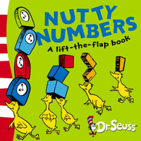 Nutty Numbers: A Lift-the-flap Book by Dr Seuss image