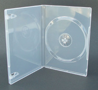 DVD Replacement Case - 14mm (1 Disc)