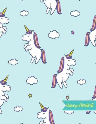 Unicorn Notebook by Delilah Choi