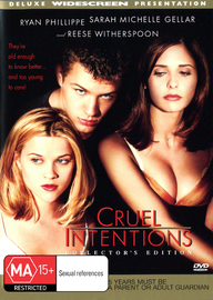 Cruel Intentions on DVD image