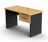 Proceed Rectangular Desk with Drawers - W1200mm x D600mm x H730mm