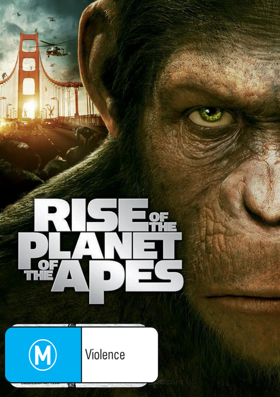 Rise of The Planet of The Apes on DVD