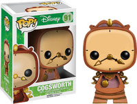 Beauty and the Beast – Cogsworth Pop! Vinyl Figure