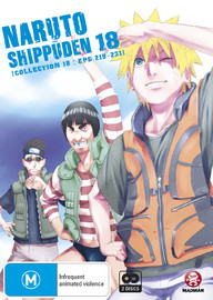 Naruto Shippuden - Collection 18 on DVD