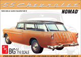 AMT: 1/16 1955 Chevy Nomad Wagon - Model Kit
