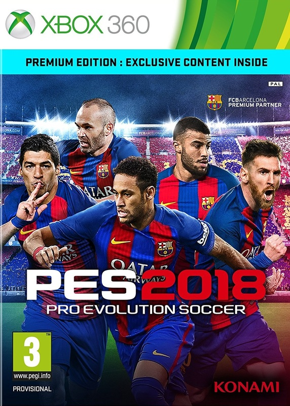 Pro Evolution Soccer 2018 Premium Edition for Xbox 360