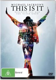 Michael Jackson - This Is It on