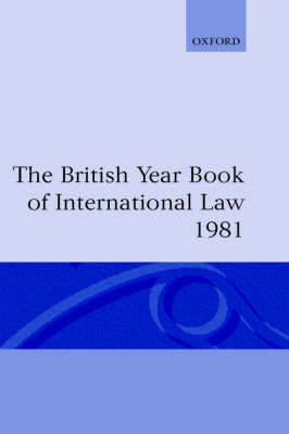 The British Year Book of International Law