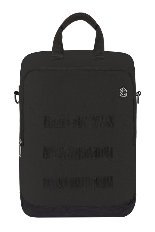 """STM: Ace Vertical Super Cargo for ChromeBook 11""""-12"""" - Black"""