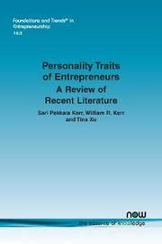 Personality Traits of Entrepreneurs by Sari Pekkala Kerr image