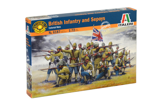 Italeri 1/72 British Inf & Sepoys - Scale Model Kit