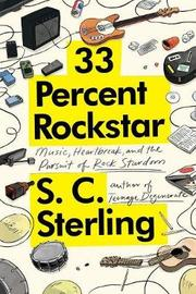 33 Percent Rockstar by S C Sterling image