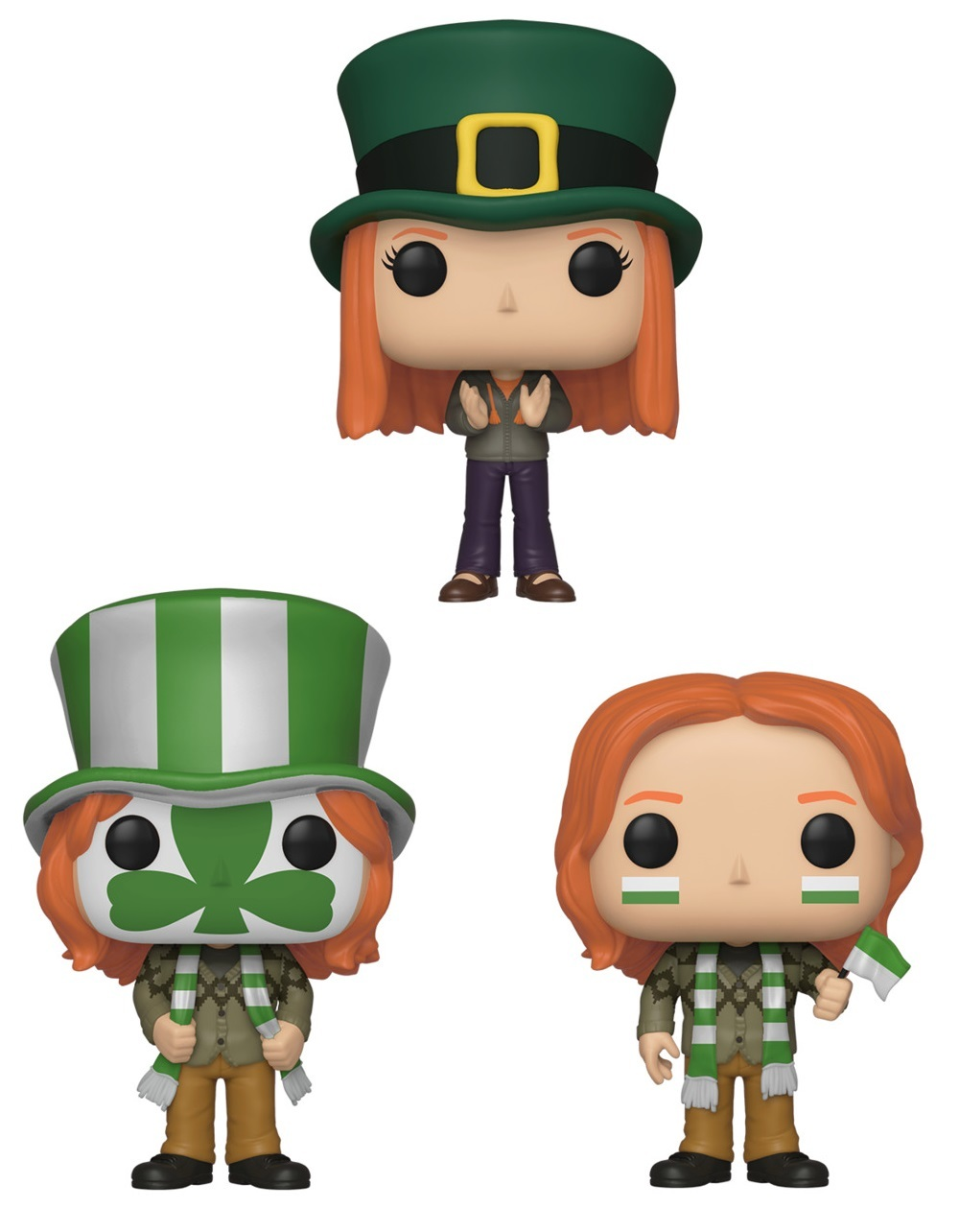 Harry Potter: Weasley's World Cup - Pop! Vinyl 3-Pack image