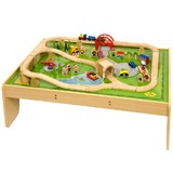 Bigjigs Train and Play Table Set