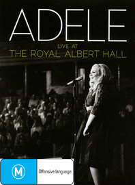 Adele - Live At The Royal Albert Hall DVD