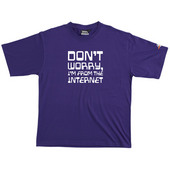 From The Internet - Tshirt (Purple) for  image