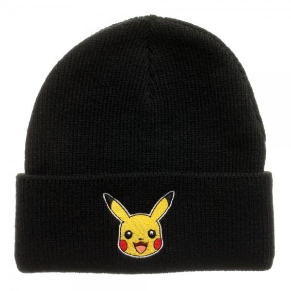 074d6d3221c Pokemon Pikachu Black Beanie image
