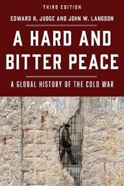 A Hard and Bitter Peace by Edward H. Judge image