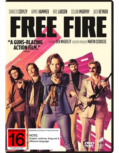 Free Fire on DVD image
