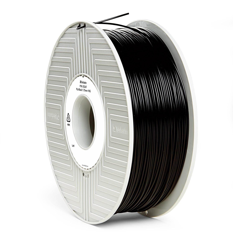 Verbatim 3D Printer PLA 1.75mm Filament - 1kg (Black) image