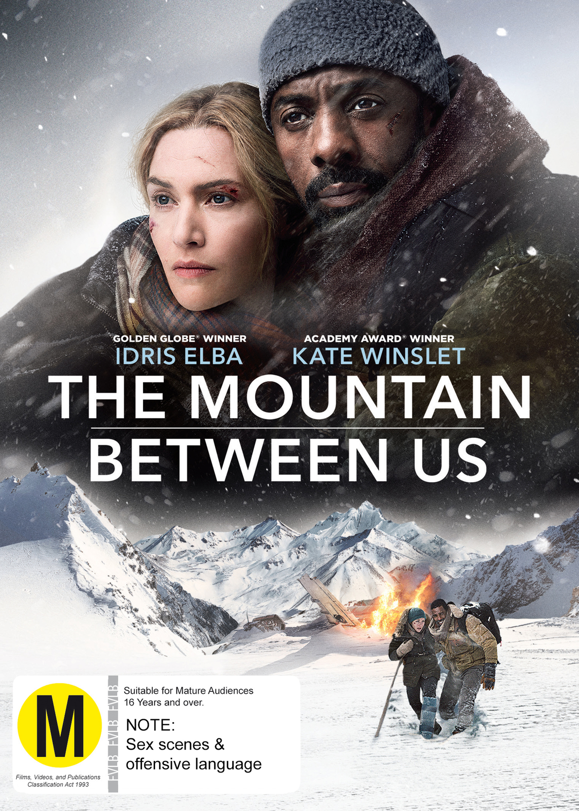 The Mountain Between Us on DVD image