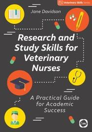 Research and Study Skills for Veterinary Nurses by Jane Davidson