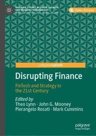 Disrupting Finance