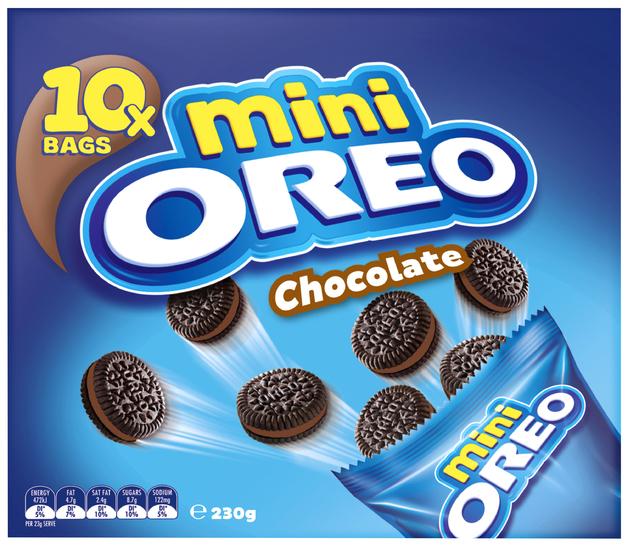 Oreo Chocolate Mini Multipack (230g)