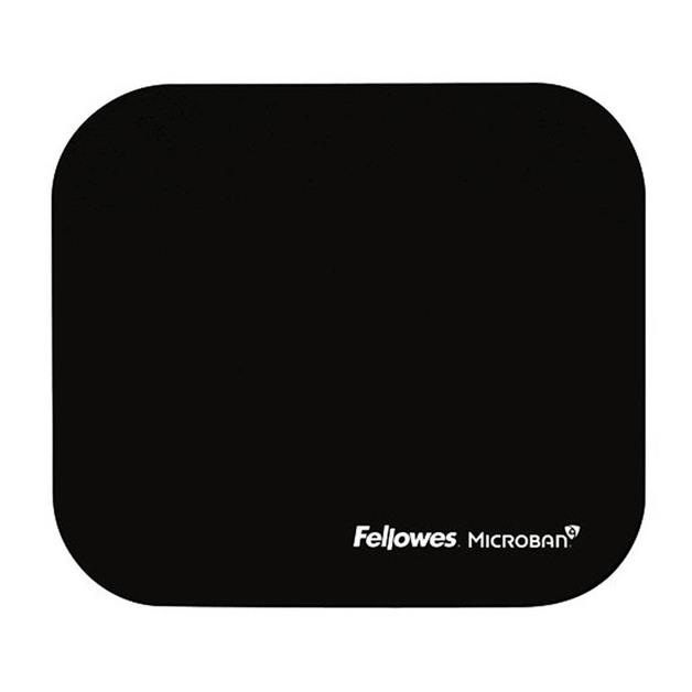 Fellowes: Microban Mouse Pad - Black