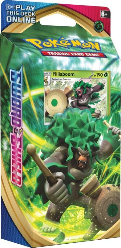 Pokemon TCG: Sword and Shield Theme Deck- Rillaboom