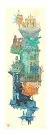 """Dark Souls: Laudate Solis (12"""" x 36"""") - Art Print"""