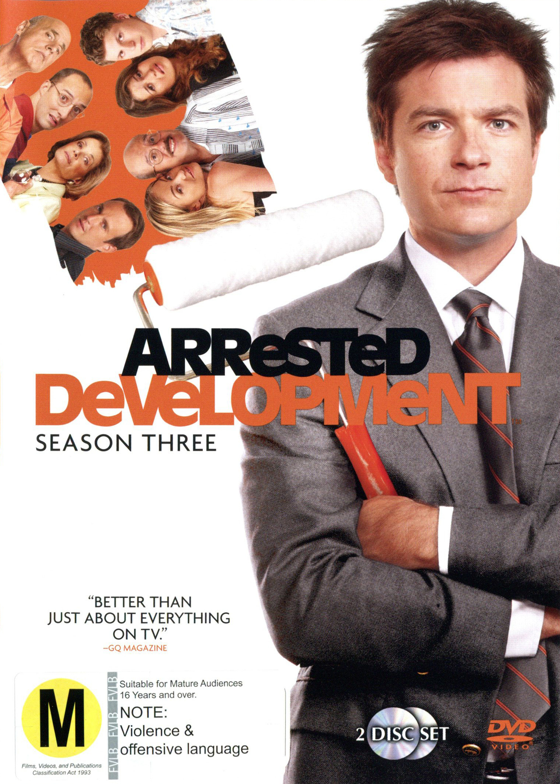 Arrested Development - Season 3 (3 Disc Set) on DVD image