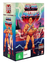 He-Man and the Masters of the Universe - Complete Collection (24 Disc Box Set) on DVD