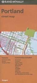 Folded Map Portland or Street by Rand McNally