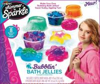 Shimmer 'n Sparkle: Scented Bubblin Bath Jellies - Craft Kit
