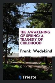 The Awakening of Spring by Frank Wedekind image