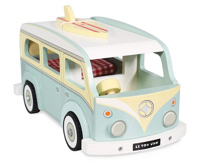 Le Toy Van: Holiday Campervan - Wooden Vehicle