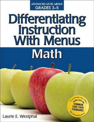 Differentiating Instruction with Menus by Laurie E Westphal image