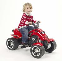 Pedal Powered Quad Bike: Pirate - Red
