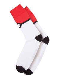 Pokemon: Pokeball - Crew Socks